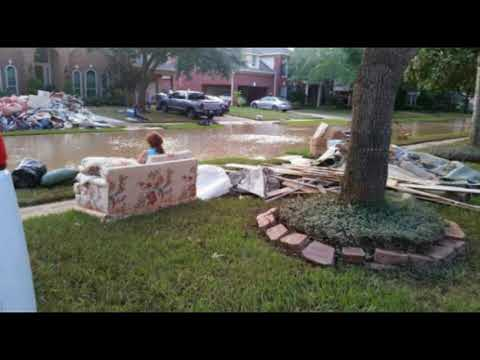 Aftermath Hurricane Harvey Houston Texas Images From Destruction