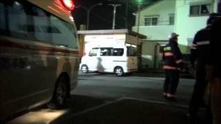2013-05-11柳川駅前事故「70代男性が50代女性が運転する車の下敷になり死亡」