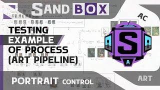 (Портретный пайплайн) Creative Sandbox [RUS / eng] - Сессия 4