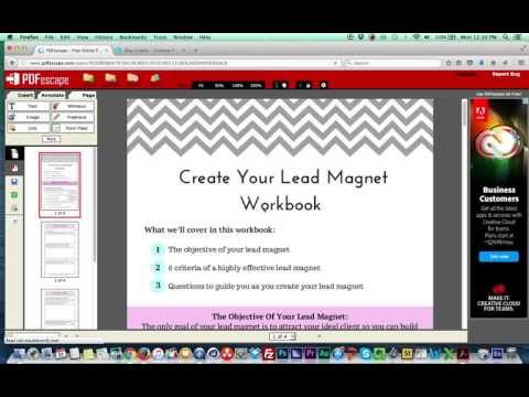 how to create a fillable pdf for free youtube