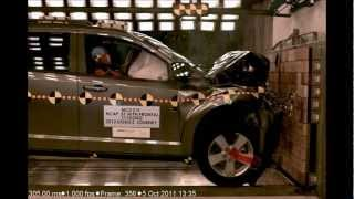 Dodge Journey | 2012 | Frontal Crash Test by NHTSA | CrashNet1