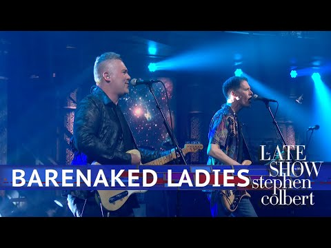 JT Bosch - WATCH: The Barenaked Ladies Perform The Big Bang Theory Theme Song LIVE
