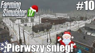Farming Simulator 17 (#10) - Pierwszy śnieg! (1/2)