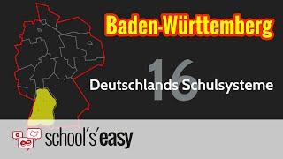 Das Schulsystem in Baden-Württemberg (2015)