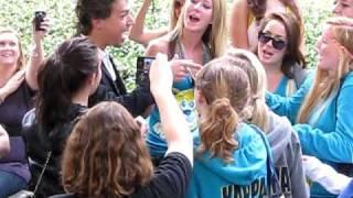 Isaac Hanson Singing MMMBop Acapella with UCLA Sorority (November 7th, 2009)