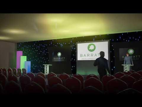 3D Conference Set Design