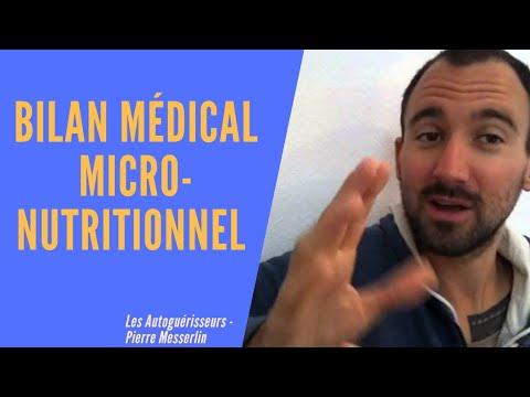 [Thème médecine] Micronutrition suite: que trouve-t-on sur un bilan biologique  de micronutrition ?