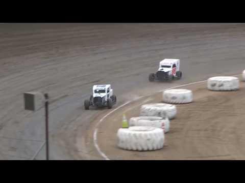 Santa Maria Speedway Dwarf Car Heat #1