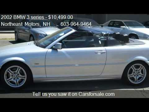2002 BMW 3 series 330Ci convertible  for sale in North Hamp  YouTube