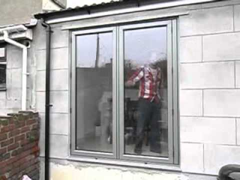 Visofold 4000 Aluminium BiFolding Doors   Legacy Windows Ltd (Bristol)