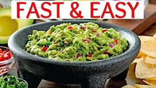 How To Make Delicious Guacamole Fast! Home Cooking 101