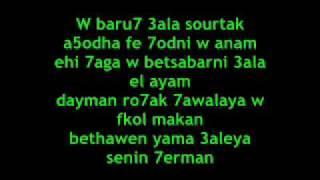 Mohammed Foad - Tameni 3alek [Lyric]