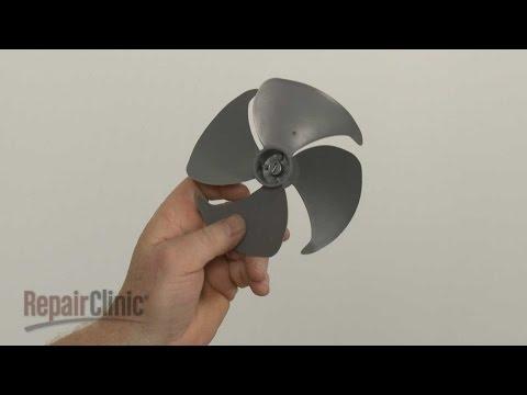 Cooling Fan Blade - GE Microwave