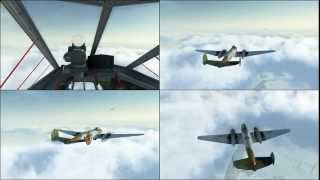 IL2 BoS Multiplayer PE 2 Random Formation