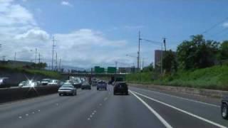 Drive in Hawaii H1 Free Way  Waikkiki - Airport No.2