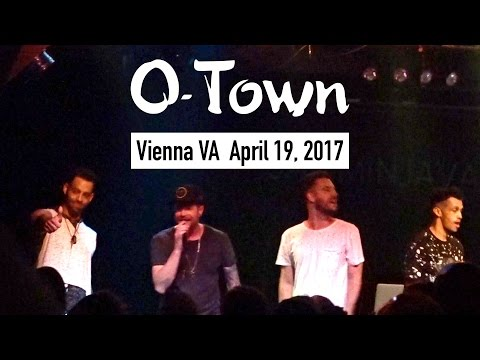 O-Town concert in Vienna VA  April 19th 2017 in JAMMIN JAVA bar