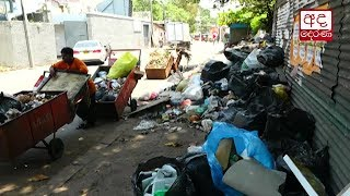 Garbage starting to pile up again in Colombo city