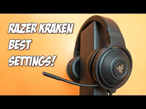 Razer Kraken 7.1 Chroma Review, Best Mic And Sound Settings - My First Gaming Headset