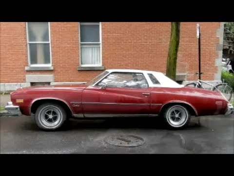 sexy '75 buick century coupe sighitng all original - youtube