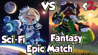 ABM: Splatoon 2 Splatfest Gameplay Match !! Sci Fi Vs Fantasy !! HD