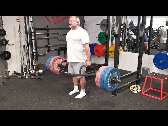 Trapbar 5 x 250 kg.