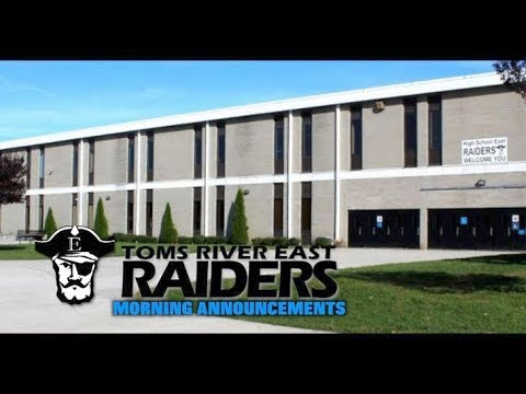 b71aac3a589 Toms River High School East Announcements 3 8 19 - YouTube