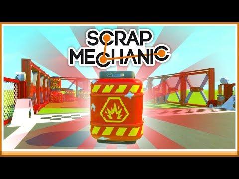 TAPPA INTE BOMBEN! - Scrap Mechanic Tävling med Toffe!