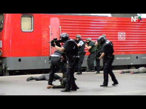 11.09.2018 - Anti-Terror-Übung am Hauptbahnhof Stuttgart