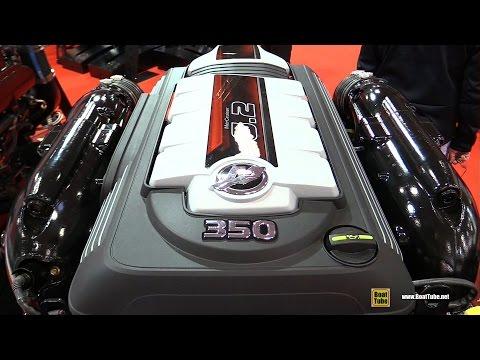 2016 Mercury Mercruiser 6.2L MPI V8 350hp Marine Engine - Walkaround - 2015 Salon Nautique de Paris
