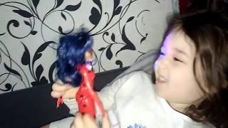 Влог: Наша жизнь! ЛЕДИ БАГ Кукла в ПОДАРОК Ксюше на День Рождения 5 лет/