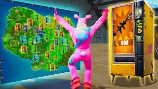 *SECRET* VENDING MACHINE LOCATIONS in FORTNITE! (Legendary Easter Egg Guide)