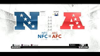 PS3 Gameplay: Madden NFL 12 (Pro Bowl) [AFC vs NFC]