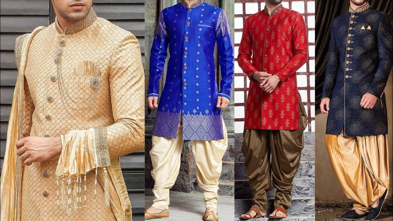 Latest Sherwani Design 2020 | Dulha Latest Sherwani Design 2020 | Pakistani  Indian Style Sherwani