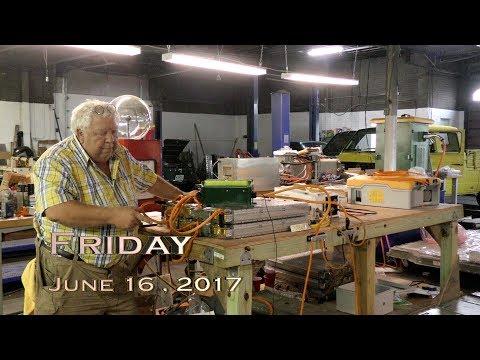 EVTV Friday Show - June 16, 2017.  Taming the Tesla Model S Battery Module