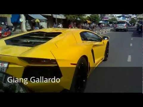 [Giang Gallardo] Lamborghini Aventador LP700-4 in Viet Nam