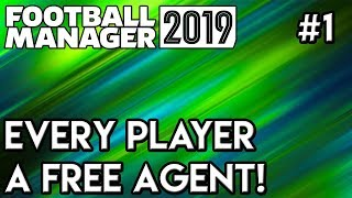 FM19 Experiment: What If Every Team Had No Players? Football Manager 2019 - Part 1!
