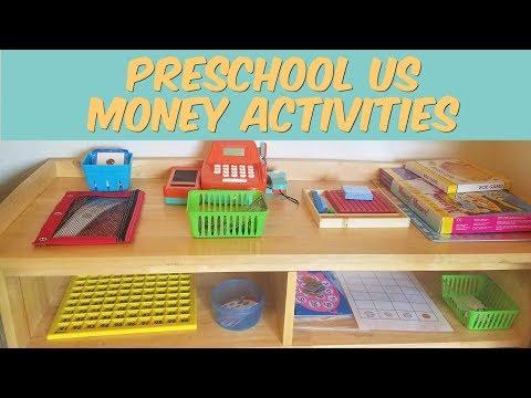 Preschool Money Activities - YouTube