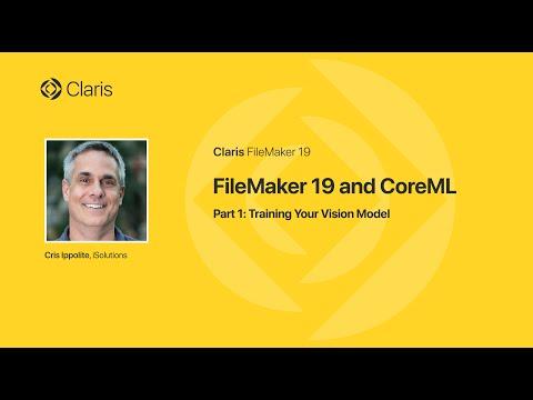 FileMaker 19 & CoreML - Part 1