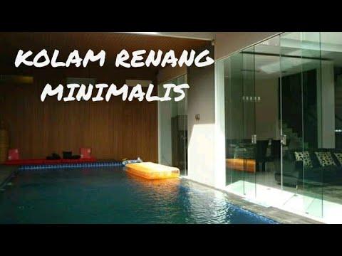 kolam renang minimalis - youtube