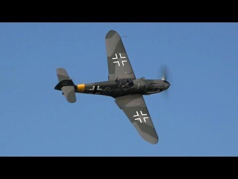 Messerschmitt Bf-109 G6 Low & Loud - DB605 SOUND