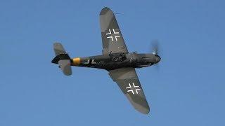 Messerschmitt Bf-109 G6 Low & Loud - DB605 SOUND