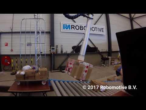 Robomotive: Robotics for Material Handling