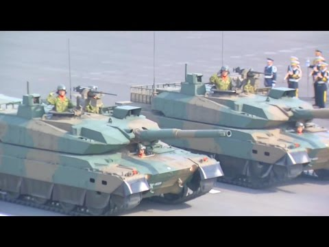 JGSDF - Japan Ground & Air Self Defense Forces Parade 2016 : Full Military Assets Segment [1080p]