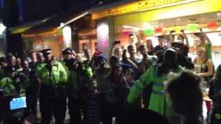 Police dance off Notting Hill Carnival 2013 full length
