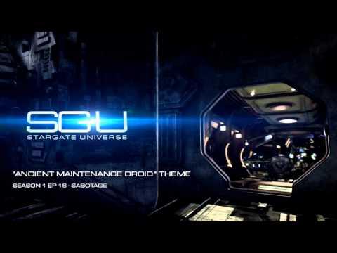 Ancient Maintenance Droid theme - Stargate Universe (unreleased music)