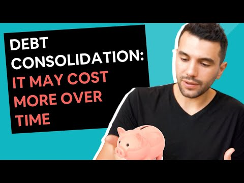 Debt Consolidation Home Loans [They can cost you $$$'s over time]