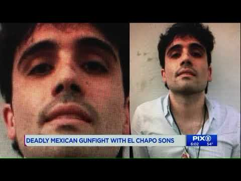 `El Chapo` Son Released By Mexican Gov`t Was Supposed To Be Extradited To United States