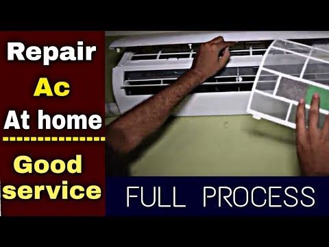 How to clean AC at home | how repair air conditioner at home  | full process | How2buy