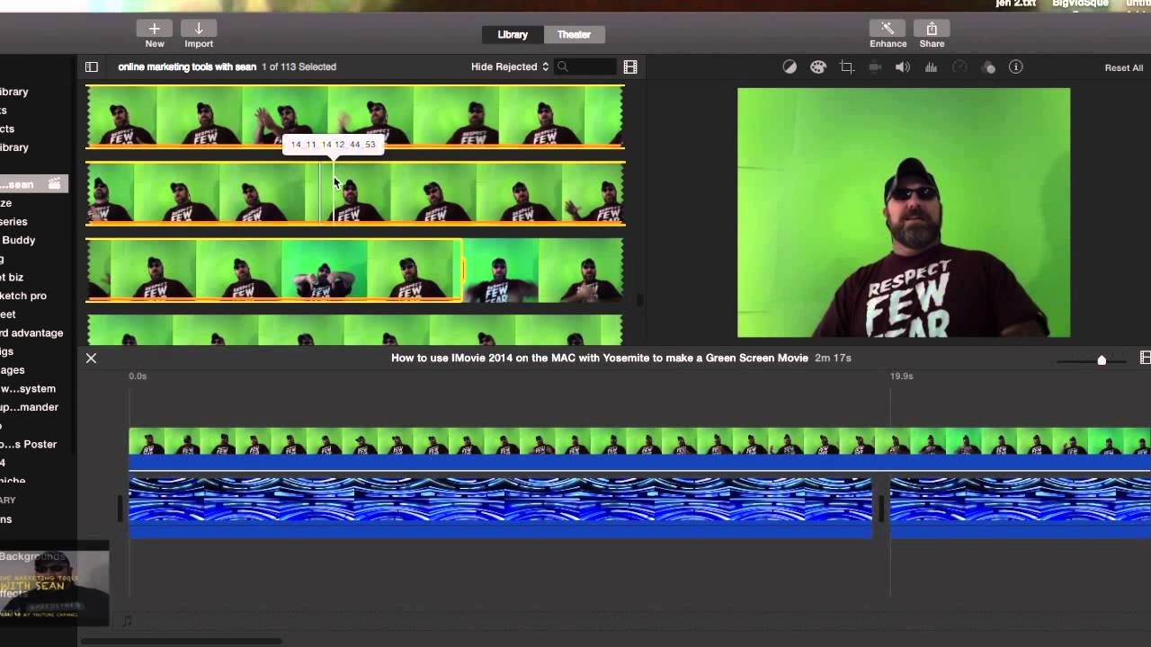 Windows 7 Key Generator >> How to us IMovie with 2014 Yosemite to make a green screen ...