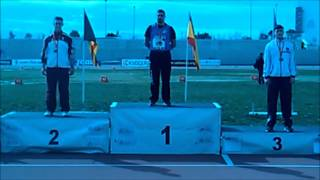BIGOT Quentin winning hammer throw U23 european cup